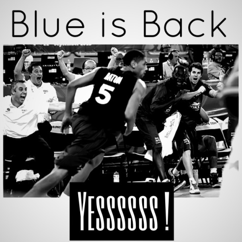 ✭ Blue is Back !