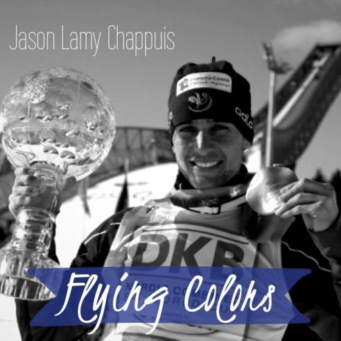 ✭ Jason Lamy Chappuis porte drapeau ... c beau !