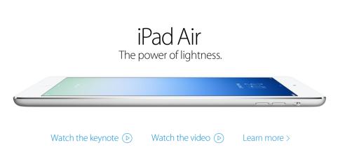 ✭ iPad Air & Co !