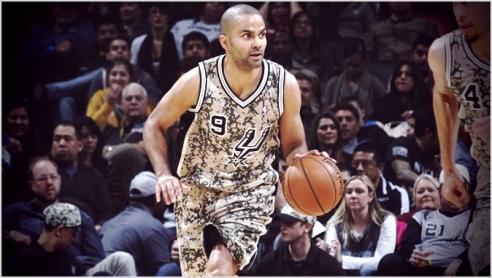 ✭ NBA Blue Nites | Parker & Diaw sans camouflage !