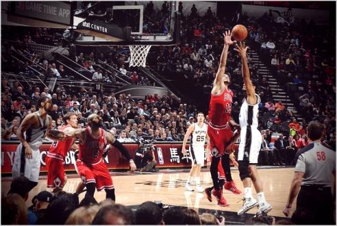 ✭ NBA Blue Nites | Noah Double-Double !