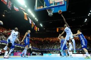 EuroBasket Women 2013 1er tour France - Grande-Bretagne