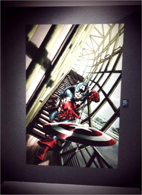 ✭ Captain America & ses Marvelous Friends sont à Paris !